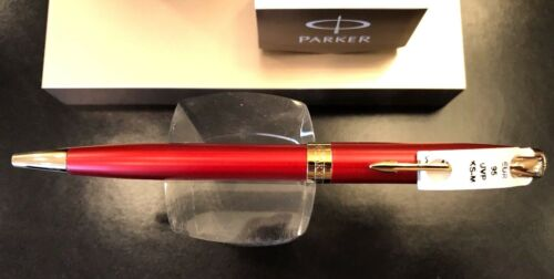 Parker Sonnet Füllhalter Red Rot Lacquer G.C Füllfederhalter
