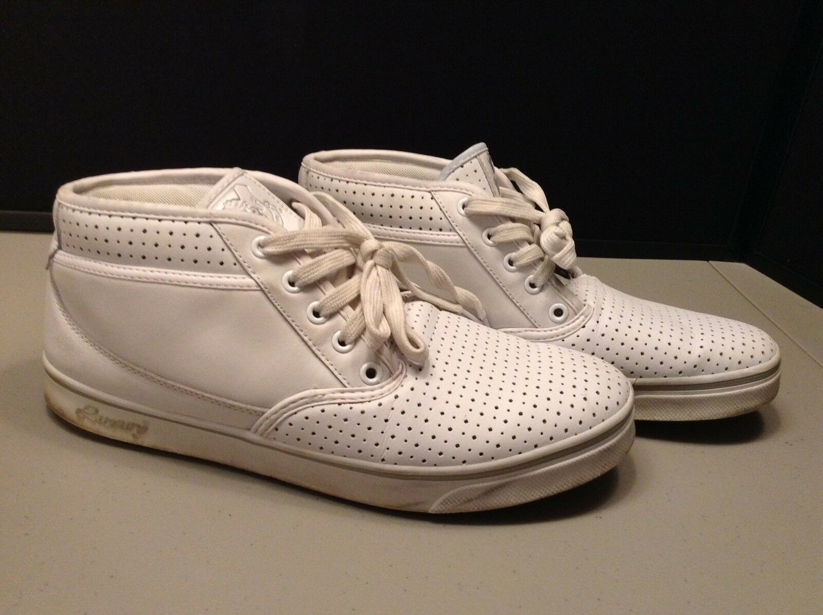 Mens Vlado Footwear Luxury Size 10 White Hightop shoes