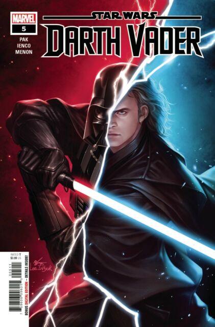 Marvel Comics Star Wars Darth Vader 5 - 1st Print (2020) In-Hyuk Lee