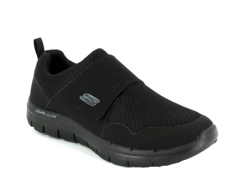 Skechers Flex Advantage 2.0 Gurn Slipper schwarz 52183 BBK The latest discount shoes for men and women