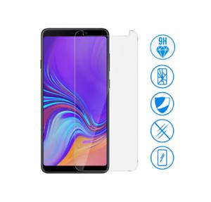 Lot-Film-Vitre-Verre-Trempe-de-Protection-d-039-ecran-Pour-Samsung-Galaxy-A9-2018