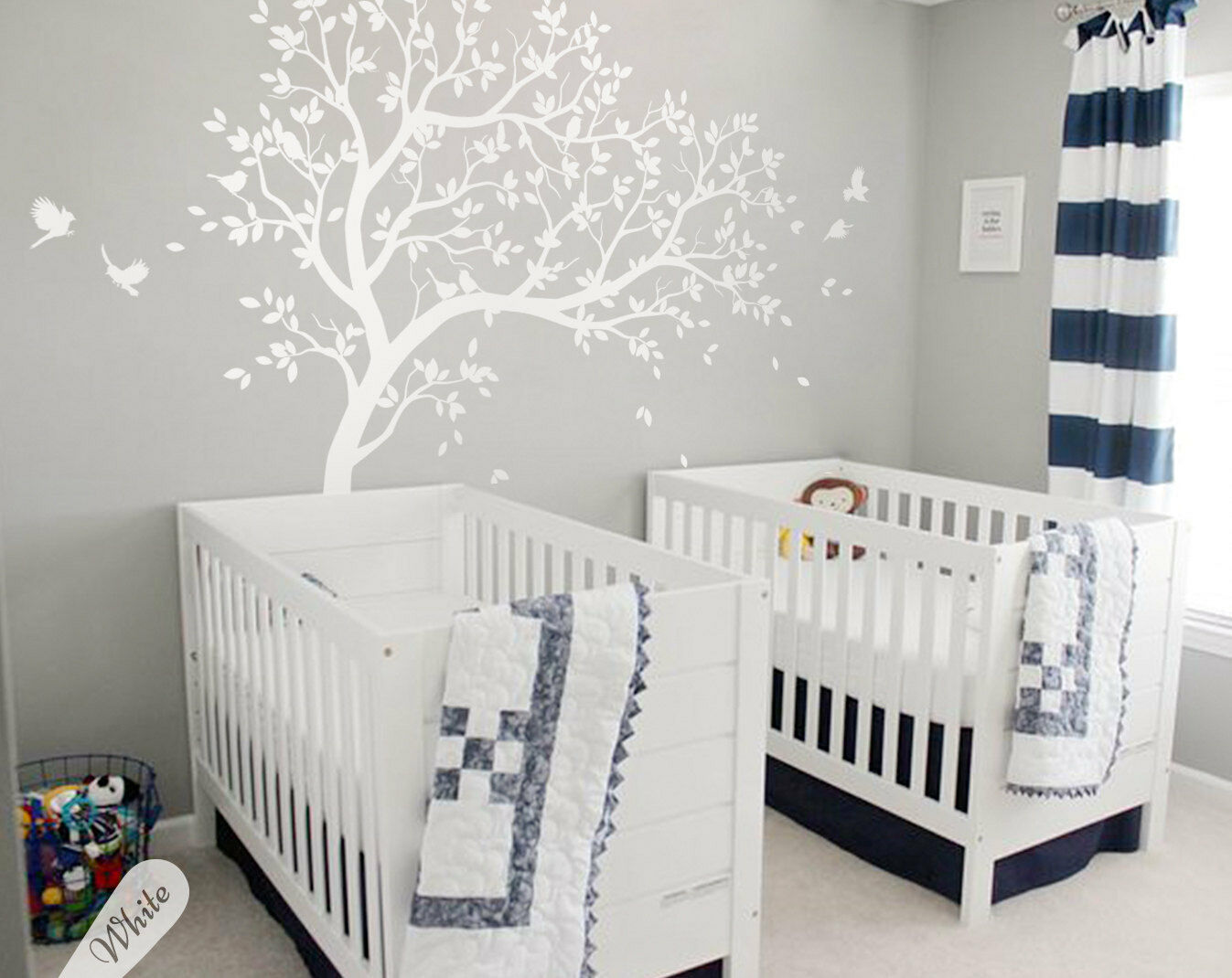 Details About Large Tree Wall Decal Nursery Stickers Huge Murals Kw032r