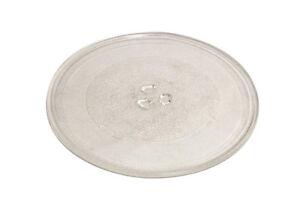 Universal-Horno-Microondas-Cristal-Plato-Giratorio-PLATO-DE-VIDRIO-255mm-con-3