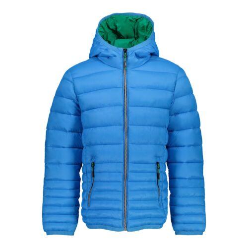 CMP Outdoorjacke Jacke BOY JACKET FIX HOOD blau wasserabweisend atmungsaktiv