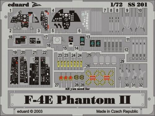 - Eduard Photoetch 1:72 Zoom Hasegawa F-4E Phantom II EDPSS201