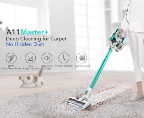 Tineco A11 Hero MASTER+ PLUS Cordless Vacuum Cleaner, 450W Rating Power HEPA     eBay