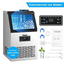 New Listingbuilt In Commercial Ice Maker Undercounter Freestand Ice Cube Machine
