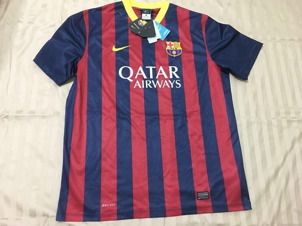 Barcelona Home Jersey Xl Nuevo Con Etiquetas