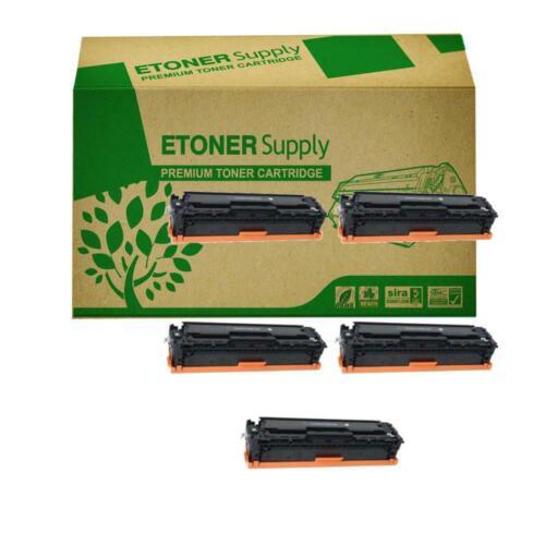 5 PK CE410A 305A Black Toner Cartridge For HP LaserJet Pro 400 color MFP M475dn