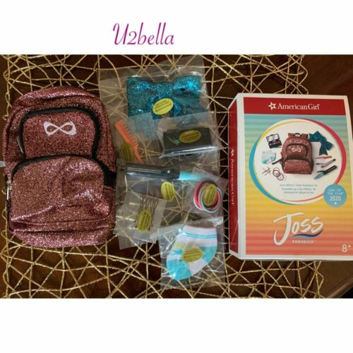 American Girl Joss Nfinity Cheer Backpack Set-complete,READY TO SHIP!