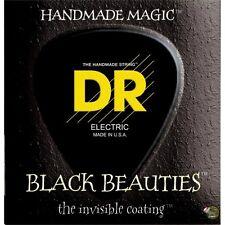 DR BKB5-45 Black Beauties Medium Gauge 5-String Bass Guitar Strings (45-125)