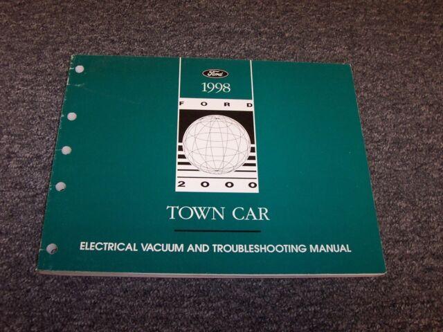 1998 Lincoln Town Car Sedan Electrical Wiring  U0026 Vacuum