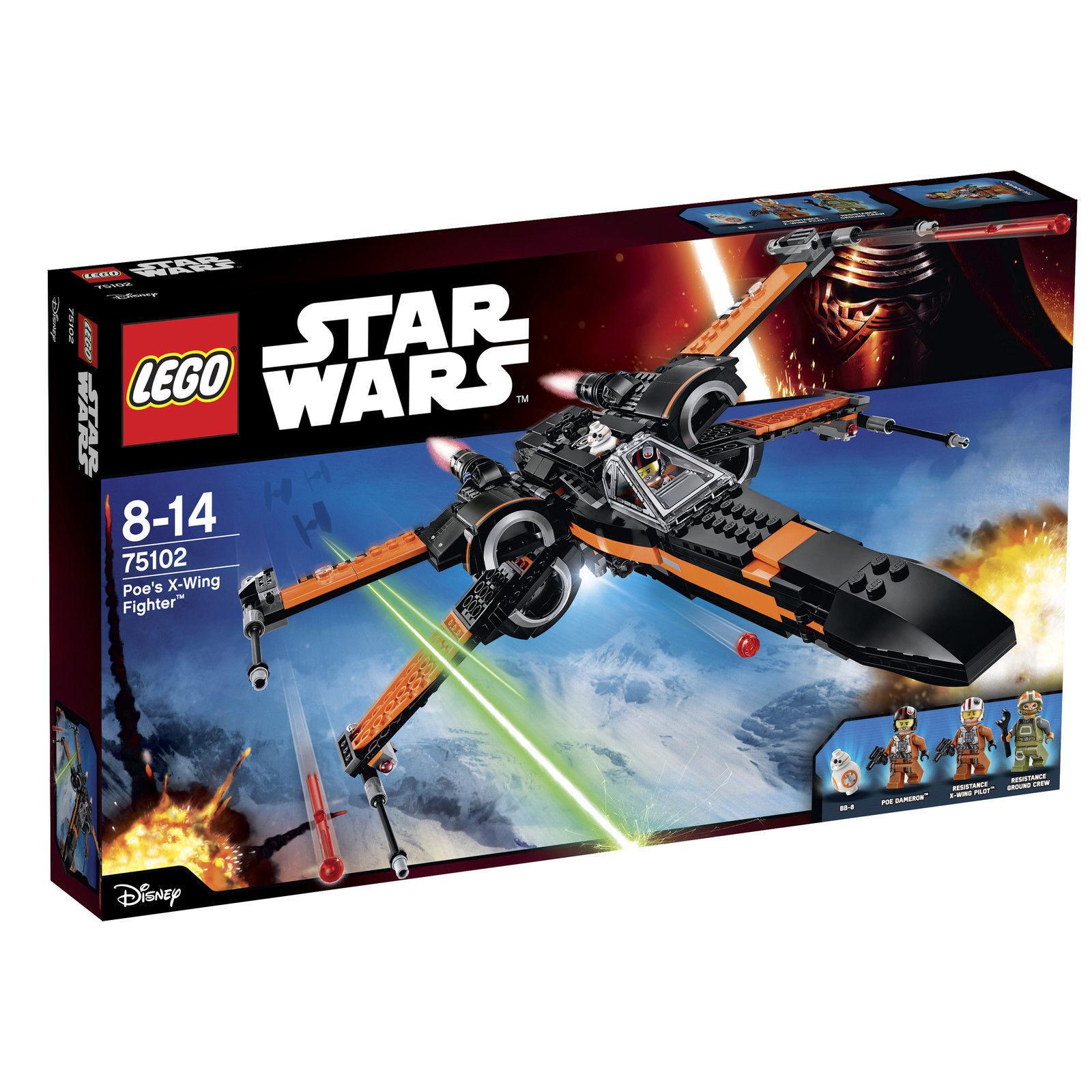 Jeja 99   TOP  LEGO estrella guerras 75102 POE's X-WING FIGHTER NUOVO nuovo MISB  vendita con alto sconto