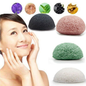 Hot-Natural-Konjac-Konnyaku-Fiber-Face-Wash-Cleanse-Sponge-Puff-Exfoliator-Tools