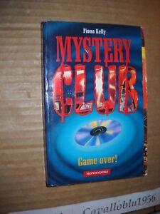 LIBRO-GAME-OVER-F-KELLY-MYSTERY-CLUB-n-9-1-MONDADORI-1996-NUOVO-MA