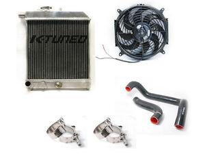 K-Tuned Passanger Side Radiator Kit Honda Civic Acura Integra EG EK DC2 K20 Swap | eBay