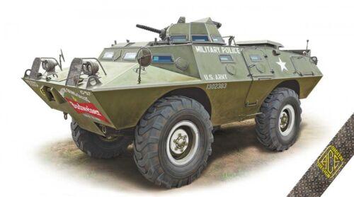 Ace 1//72 V-100 XM-706 E1 Armored Patrol Car # 72431