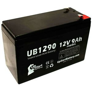 6 Pack Brand Product Mighty Max Battery 12V 9Ah Battery Replaces Alpha Technologies Ali Plus 1500TXL
