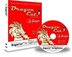 Vinyl Cutter Software >> Dragoncut Saga Vinyl Cutter Software With Cd Ebay