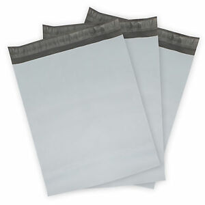Image Is Loading Poly Mailers Plastic Envelopes White Gray Shipping Mailing