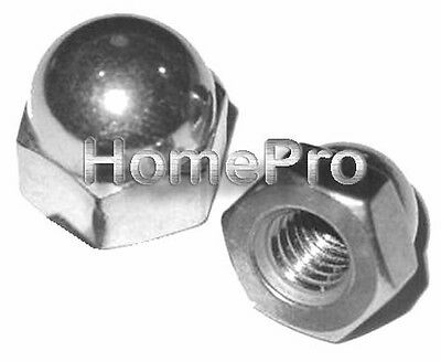 Lot of 4 Paks Handi-Man Marine Hardware Stainless Steel Hex Nuts 1//4-20