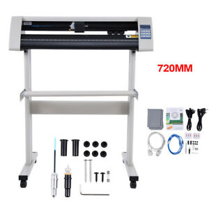 72cm Vinyl Cutter Plotter 28 inch Business Sign Sticker Cutting Making SignCut 718174131030