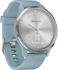 Artikelbild Garmin Vivomove HR Sport S/M Hellblau Smartwatch Fitnessarmband Tracker NEU OVP