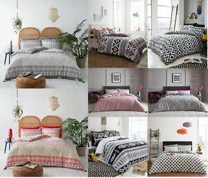 De-Lujo-Huxley-Edredon-Edredon-Edredon-Cubierta-POM-POM-set-cama-Set-3-piezas-Juego-de-cama