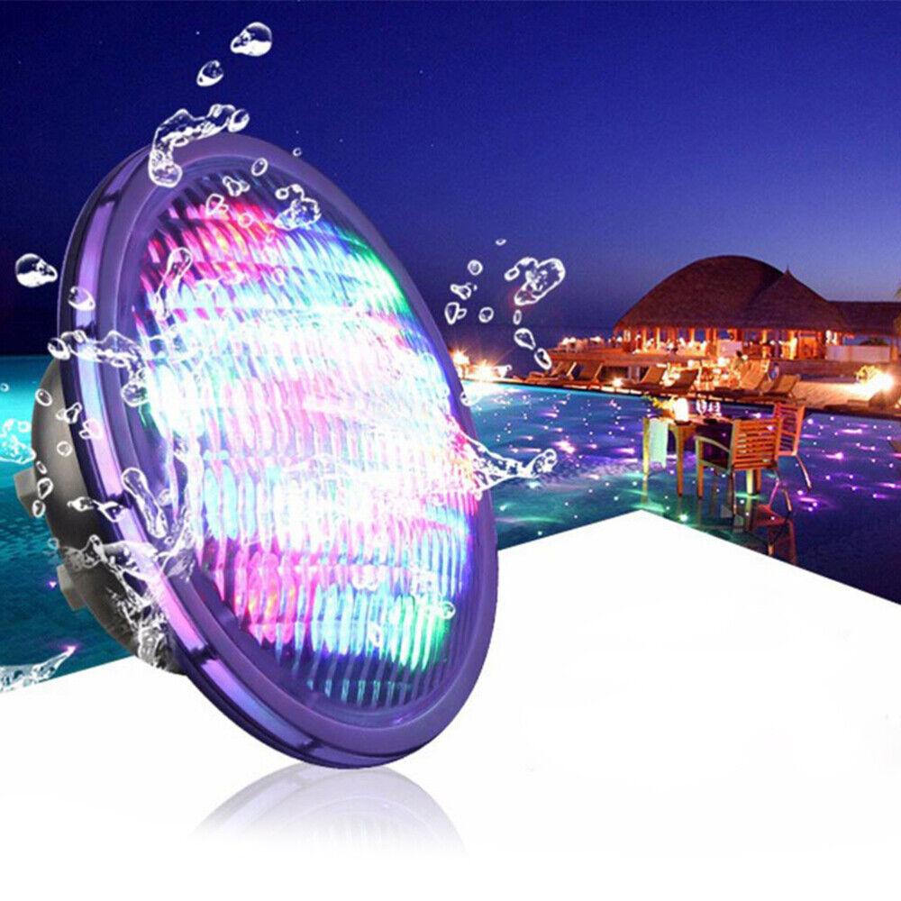 Swimming Pool Light LED PAR56 DC24V 18W RGB Underwater Lamp for Pond Lighting