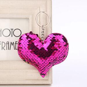 Cute-Handbag-Pendant-Keychain-Charm-Car-Sequins-Glitter-Keyring-Hanger-Keyfob-SW