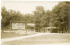 RPPC NY Adirondacks Chestertown Tripp Lake Ice Cream Pavillion Warren County