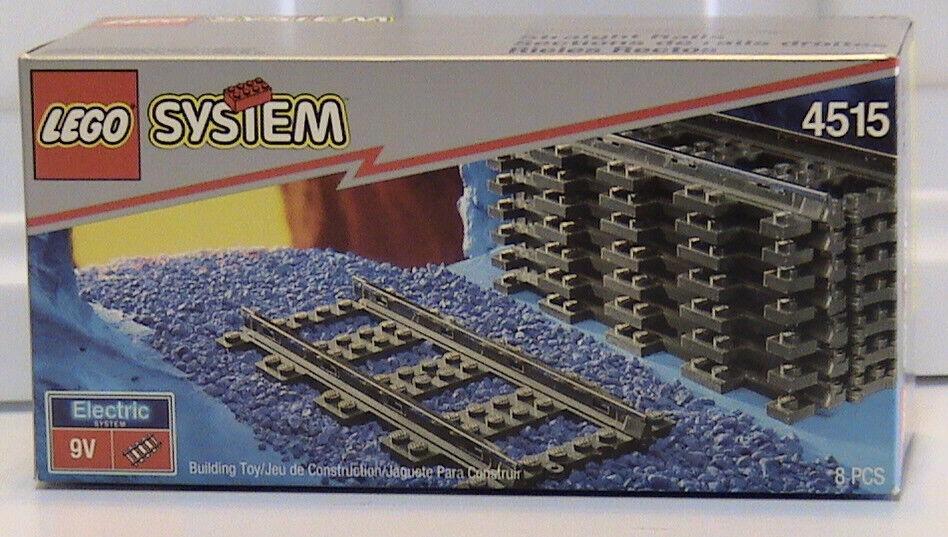 Lego 4515 Vías de Tren rectas 9 V