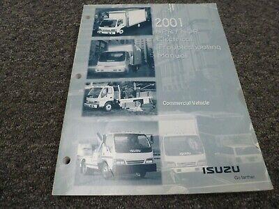 2001 Isuzu NPR NQR Cab Over Medium Duty Truck Electrical ...