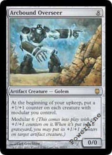 1 Arcbound Overseer Artifact Darksteel Mtg Magic Rare 1x x1