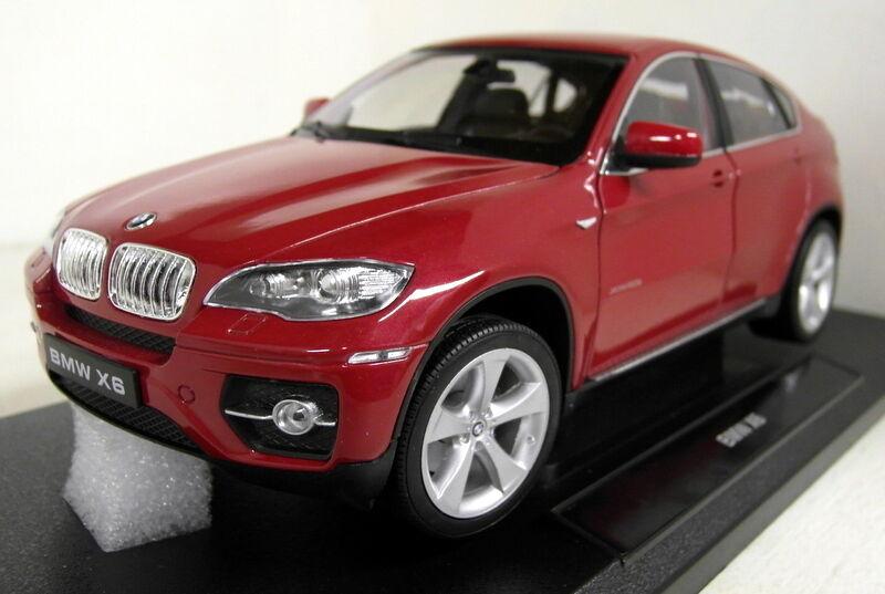 Nex 1 18 escala 18031W BMW X6 rojo Diecast Modelo de Coche