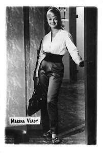 B59162 Marina Vlady actors acteurs 9x7cm