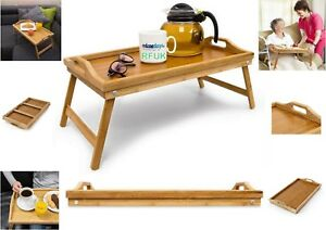 Bamboo-Wooden-Bed-Tray-With-Folding-Legs-Serving-Breakfast-Lap-Tray-Table-Mate