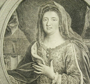 Marquise-De-Maintenon-Francoise-Aubigne-Paul-Scarron-Braut-Secret-Rare-Louis-XIV
