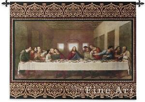 Image Is Loading 53x40 Last Supper Christ Religious Tapestry Wall