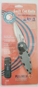 100% Vrai Boomerang Tool Company Swift Coupe Rétractable Couteau Btc207 Chasse Pêche Avec étui-afficher Le Titre D'origine