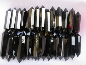 2-2lb-NATURAL-OBSIDIAN-POLISHED-CRYSTAL-DT-WAND-POINT-Healing