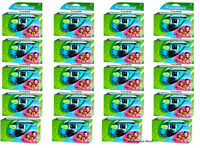 20 Fuji Quicksnap Waterproof Underwater Disposable Single Use Cameras 11/2018