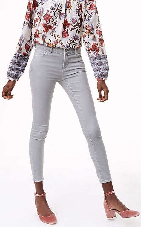 Ann Taylor LOFT Skinny Brushed Corduroy Pants in Modern Size 26 2P, 27 4P NWT
