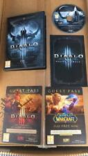 Diablo III Reaper Of Souls Collectors editiongame dvd empty box only no game