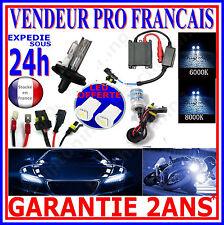 KIT DE CONVERSION XENON HID AMPOULE H4 8000K 35W LAMPE FEUX DE CROISEMENT PHARE