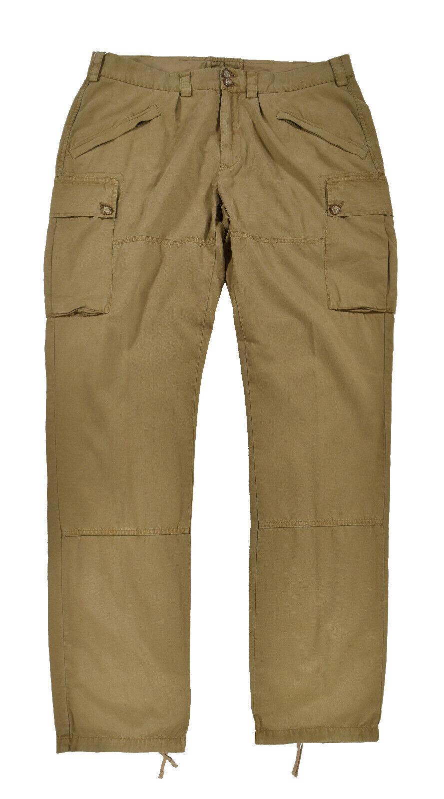 Ralph Lauren Purple Label New Ghurka Solden Military Cargo Pants New