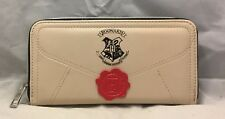 Official Harry Potter Letter Cream Coin /& Zip Around Purse For Women Gift Wallet