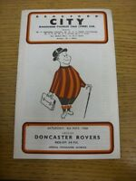 04/05/1968 Bradford City v Doncaster Rovers  (Crease, Marked On Back). Thanks fo