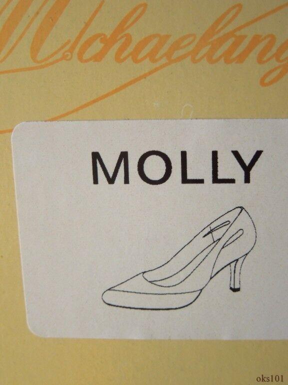 New Michaelangelo 'Molly' Weiß satin schuhe wedding wedding wedding bridal - classy 844096