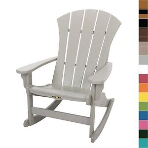 Admirable Details About Pawleys Island Sunrise Adirondack Rocker Resin Durawood Chair Outdoor Furniture Andrewgaddart Wooden Chair Designs For Living Room Andrewgaddartcom